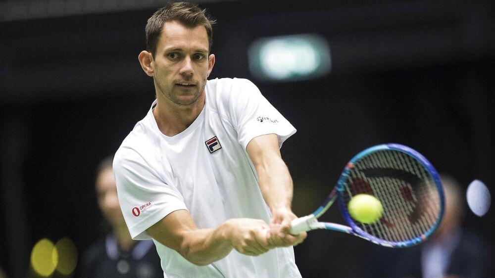 Frederik Løchte Nielsen vandt sammen med sin double-makker Jonathan Marray Wimbledon i 2012. Han fortæller, at morens død i den grad har præget hans karriere.
