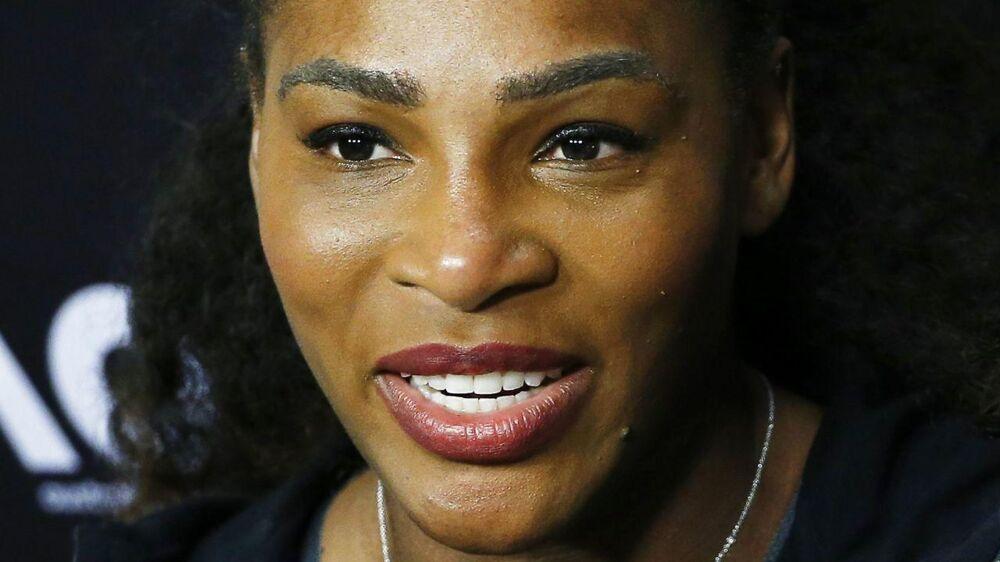 Serena Williams er gravid. Hun er nu 21 uger henne,