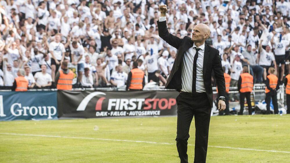 Ståle Solbakken: »Vi skal ikke prale med, at vi er meget bedre end Brøndby, men vi skal prale med, at vi har spillet 20 kampe flere end dem i denne her sæson. Vi har spillet fem kampe mod dem, og de har scoret to gange.«