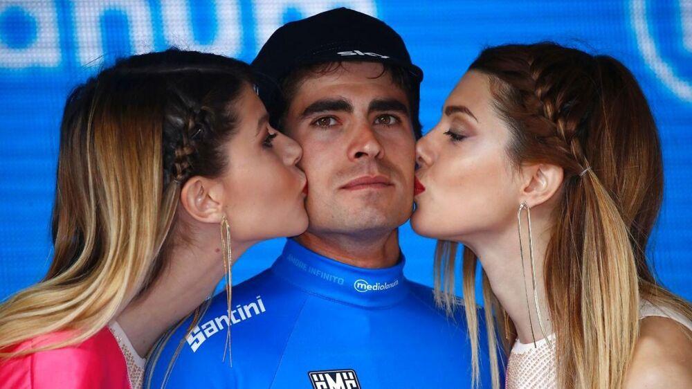 Mikel Landa vandt fredagens etape i Giro d'Italia.