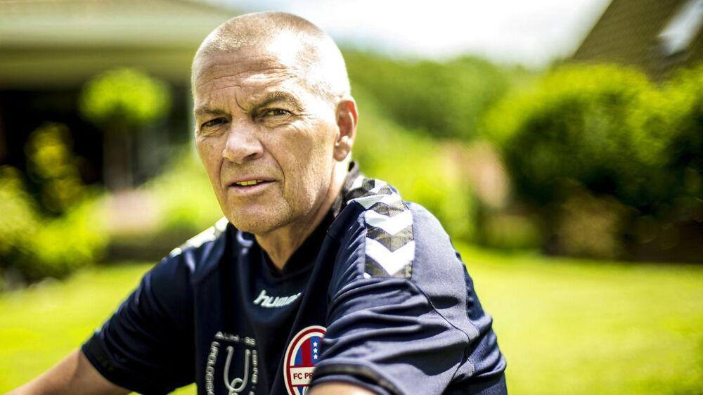 Anders Munk er ramt af prostatakræft - noget af det, der holder håbet i live er glæden ved at spille fodbold.