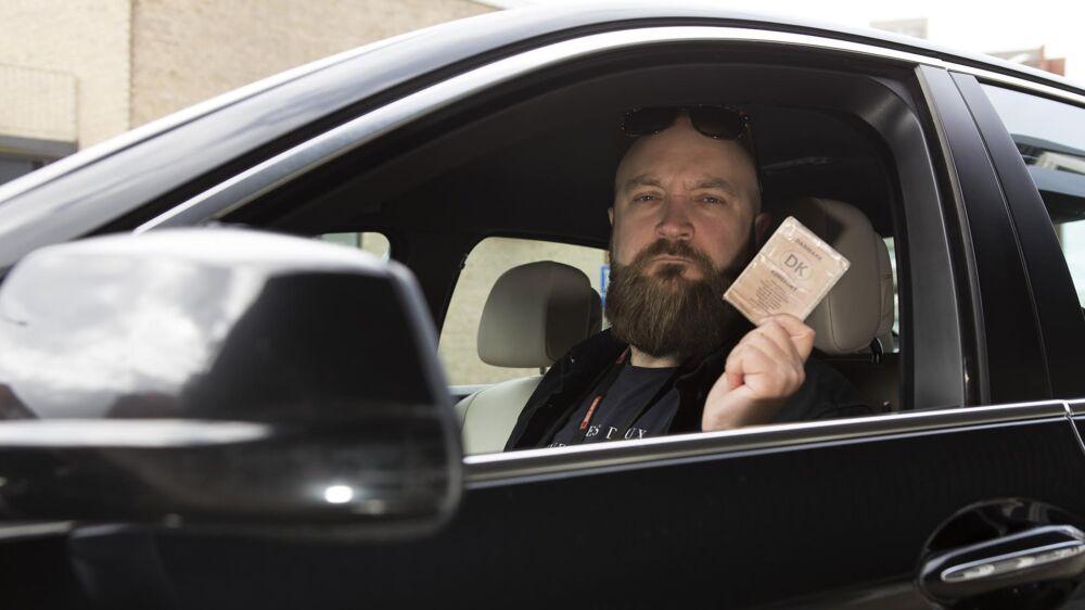 Brian Schou mener, at politiets fartkontrol på Tarp Hovedvej ene og alene handlede om at skrabe penge ind.