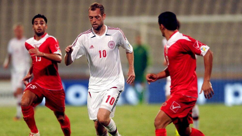 Niclas Pedersen debuterede på landsholdet i 2010 og har i alt 13 landskampe på CV'et.
