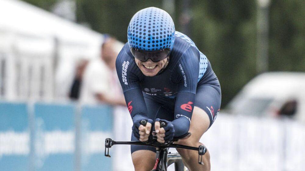 Camilla Møllebro Pedersen vandt DM i landevejsløb