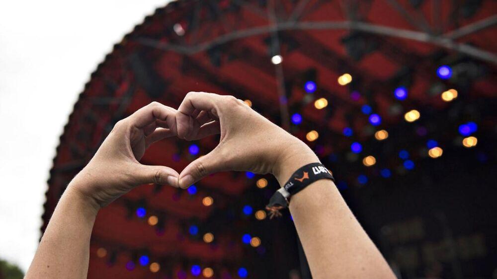 En undersøgelse af de sociale medier under Roskilde Festival viser, at humøret blandt gæsterne er højest i begyndelsen af festivalen