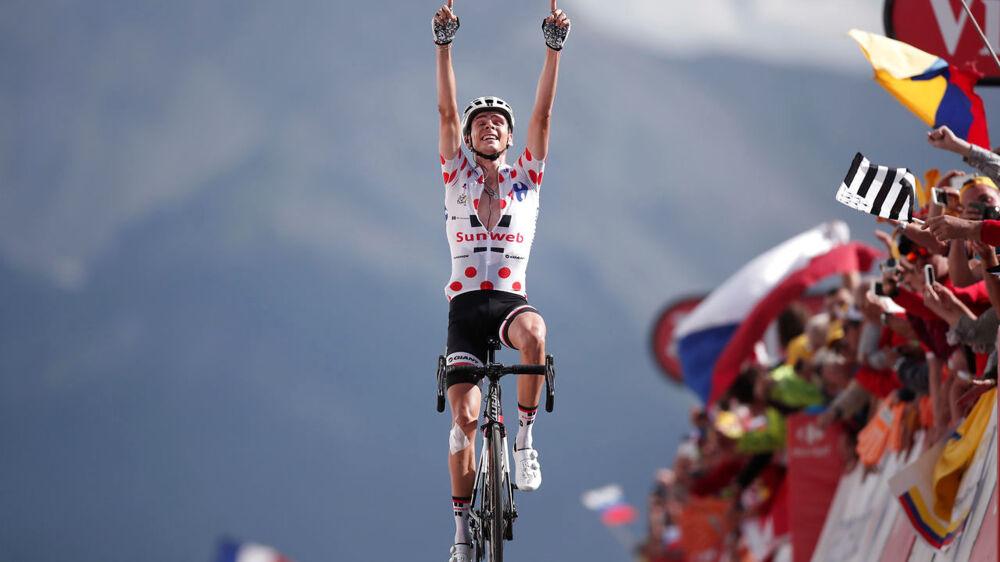 Warren Barguil vinder den sidste bjergetape i årets Tour de France.