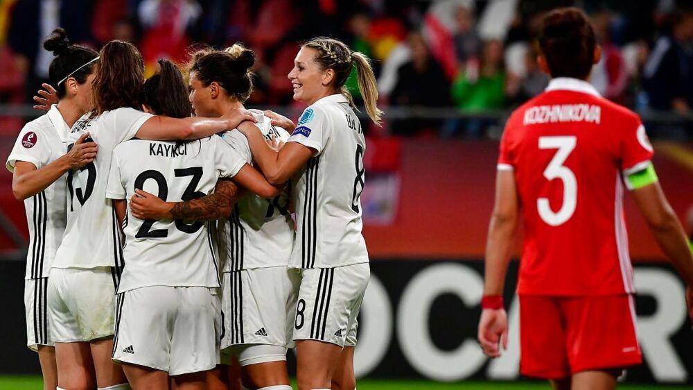 Tyskland er klar til kvartfinalen ved EM mod Danmark.