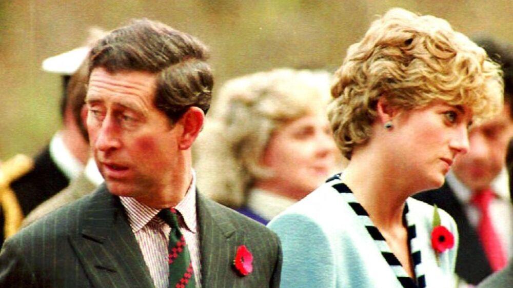 Charles og Diana.
