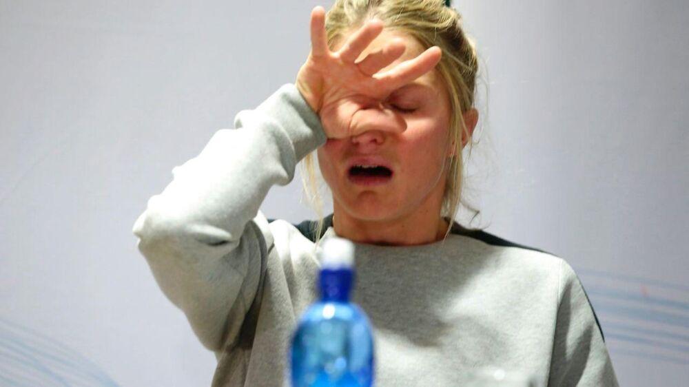 Therese Johaug var knust, da hun blev trukket igennem mediemøllen i sin dopingsag.