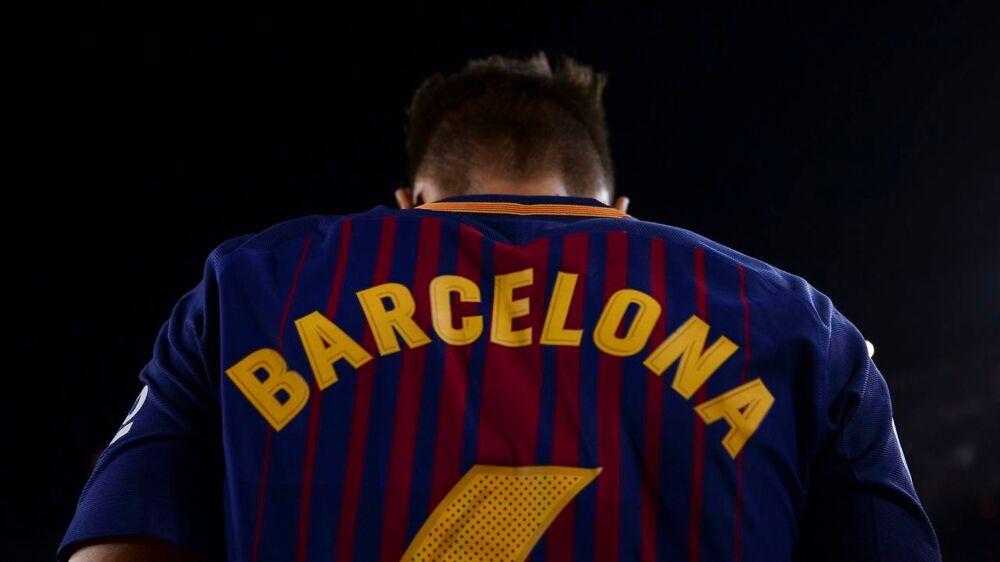 Samtlige FC Barcelona-spillere spillede i søndagens kamp med 'Barcelona' trykt på ryggen i stedet for sit eget navn af respekt for ofrene for torsdagens terrorangreb i byen.