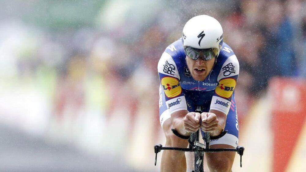 Matteo Trentin vandt tirsdagens etape i Vuelta a España.