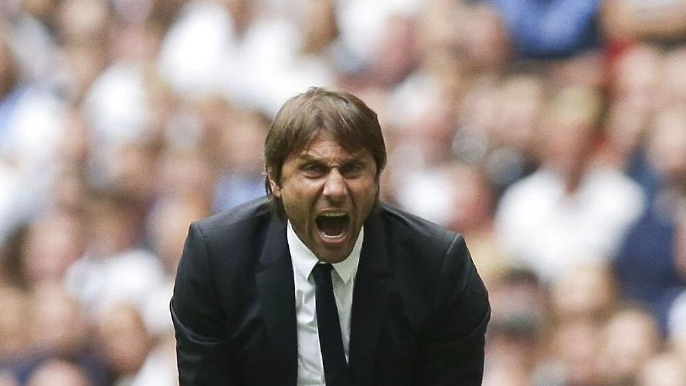 Antonio Conte er kun lige gået i gang med sin anden sæson i Chelsea.