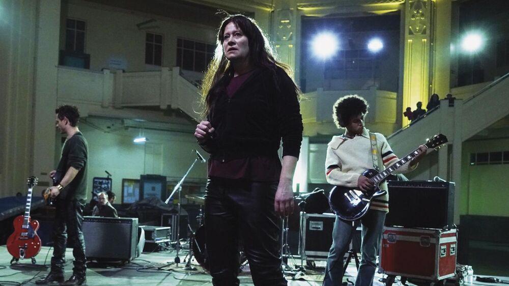 Trine Dyrholm i rollen som den legendariske sangerinde Nico i »Nico, 1988«.