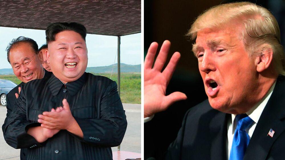 »Det er jo en optrapning. Nordkoreanerne bliver næppe så chokeret som mange diplomater gjorde, fordi han snakker krig og ødelæggelse fra FNs talerstol,« siger Geir Helgesen.