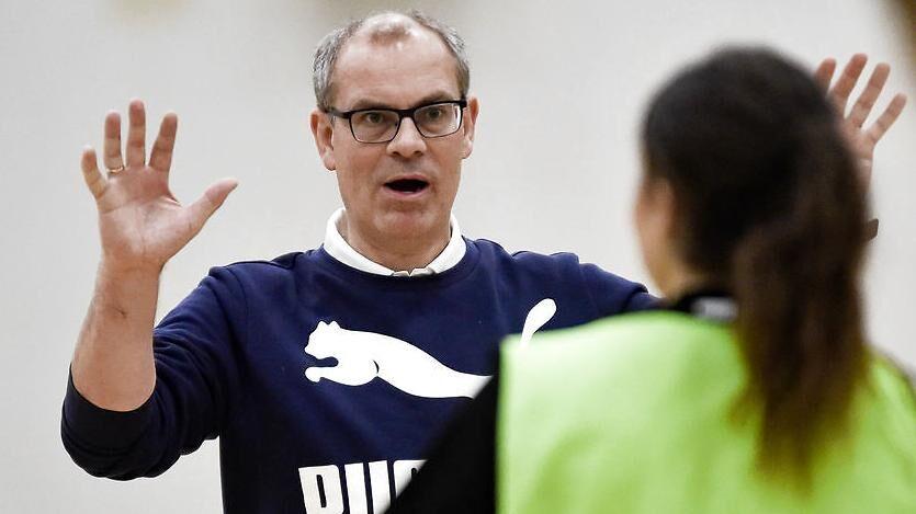 Jan Pytlick er træner i Odense Håndbold.