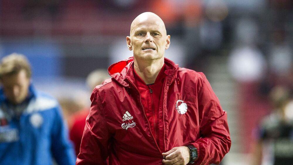 Ståle Solbakken var en glad mand efter sejren over Silkeborg.