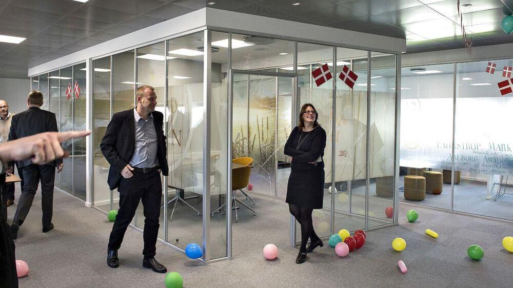 Geodatastyrelsen flyttede sidste år fra København til Aalborg, hvor den nye arbejdsplads for 117 ansatte i november blev indviet med bl.a. deltagelse af energi- og klimaminister Lars Christian Lilleholt (V).