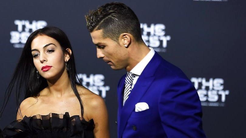 Georgina Rodriguez og Cristiano Ronaldo.