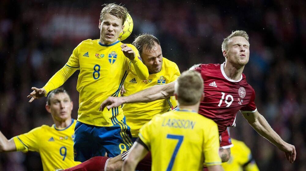 Sverige er sikre på, at de kan slå Danmark ud, hvis de to hold trækker hinanden i eftermiddag.