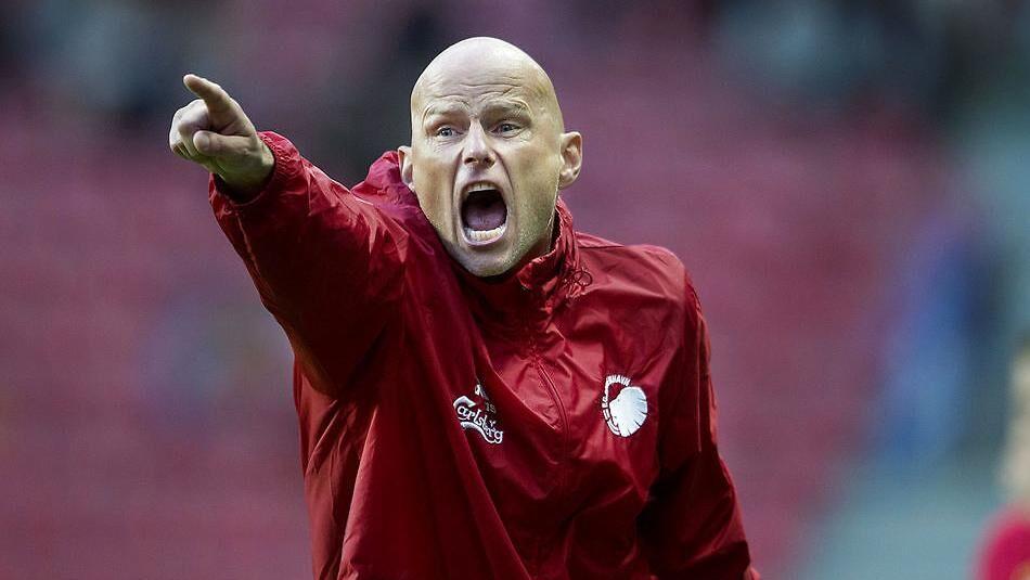 Ståle Solbakken (billedet) og FCK skal torsdag møde FC Zlín på udebane i Europa League.
