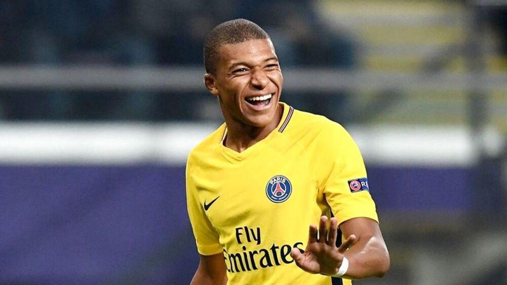 Mbappe under Champions League-kampen mod Anderlecht