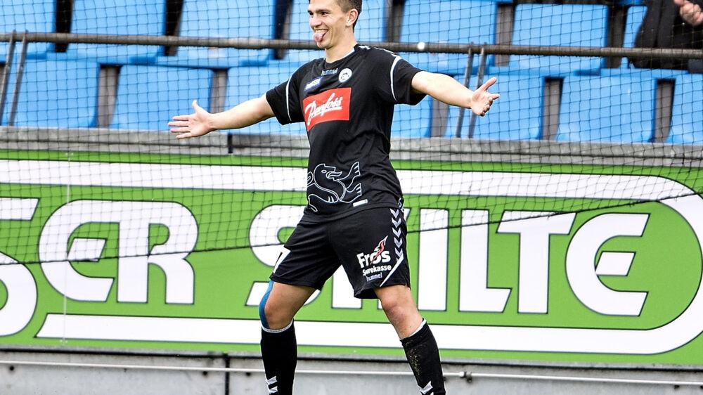 Sønderjyskes Mikael Uhre har måske spillet sin sidste kamp på denne side af juleferien. Scanpix/Henning Bagger