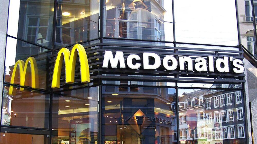 McDonald's på Strøget i København.