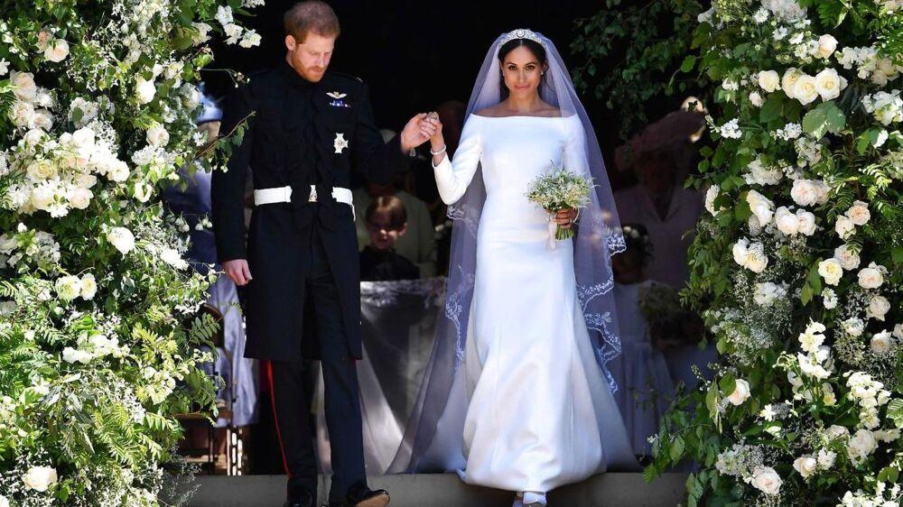 Prins Harry, Hertug af Sussex og hans kone Meghan, Hertuginde af Sussex.