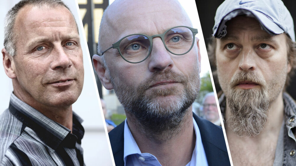 Blandt andet disse tre personer - Kim Henningsen, Henrik Qvortrup og Ken B. Rasmussen - er tiltalt for hackning, bestikkelse og overtrædelse af markedsføringslovens bestemmelser om forretningshemmeligheder.