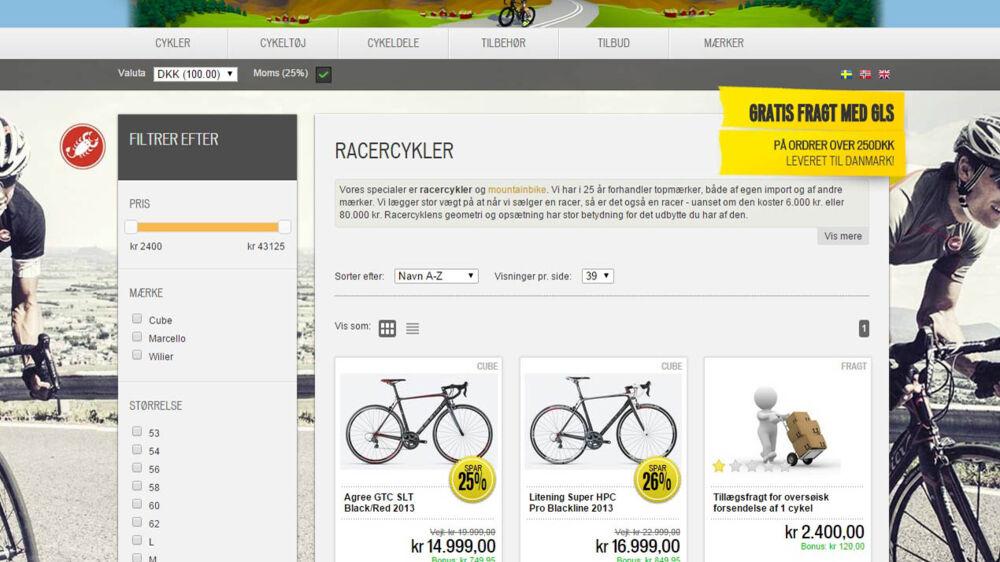 Selskabet Bikebuster, som er blevet kendt ofr at sælge cykeludstyr med store rabatter på nettet, er blevet begæret konkurs.