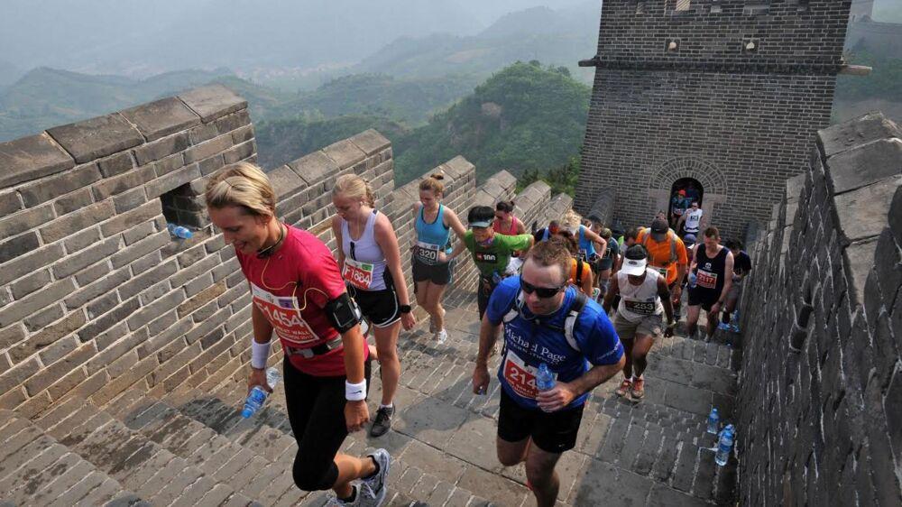 The Great Wall Marathon på den kinesiske mur blev løbet for 17. gang, og 2.444 løbere besejrede verdens største fæstningsværk.