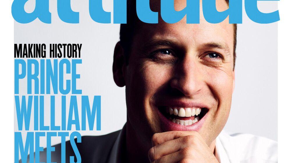 Når Attitude Magazines juli-nummer udkommer, er det historisk. Det er nemlig første gang, at et medlem af den britiske royale familie optræder på forsiden af et LGBT-magasin.