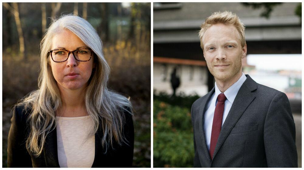 Arkivfoto. Jane Kaasgaard Rasmussen er 30 år og har en chefstilling i Tryg. Caspar Olausson er 35 år og ser frem til en chefstilling i Vejdirektoratet fra årskiftet.