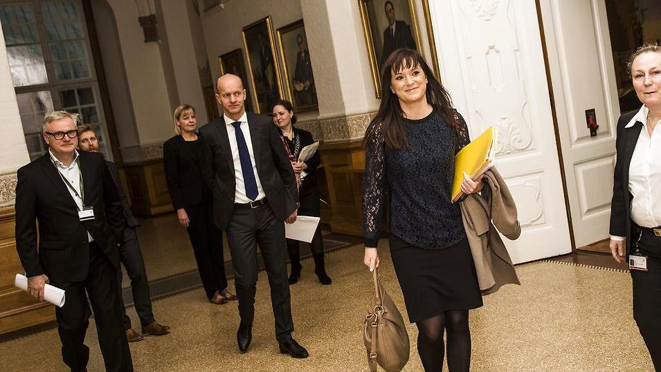 Arkivfoto. Minister for offentlig innovation Sophie Løhde (V).