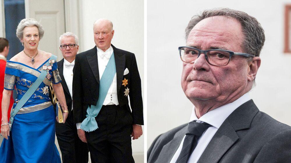 Overlæge Ulf Helgstrand var nær ven af prins Richard.