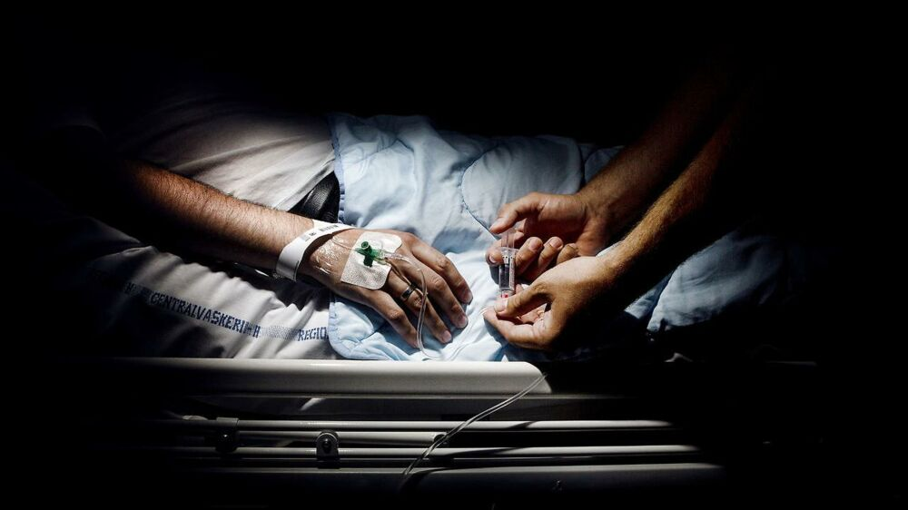 Arkivfoto fra Hvidovre Hospital.