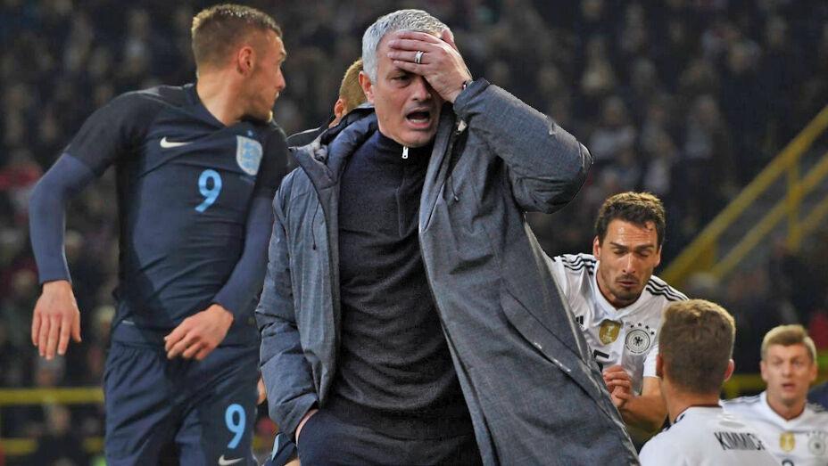 Venskabskampe er et fyord for Manchester Uniteds manager, José Mourinho.