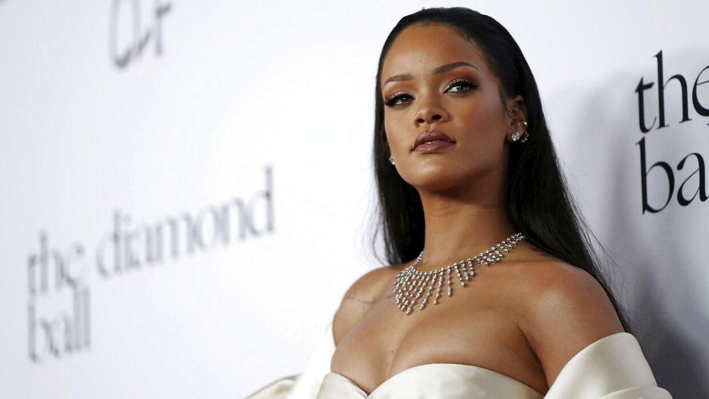 Rihanna har netop udgivet sit nye album 'Anti'. REUTERS/Mario Anzuoni