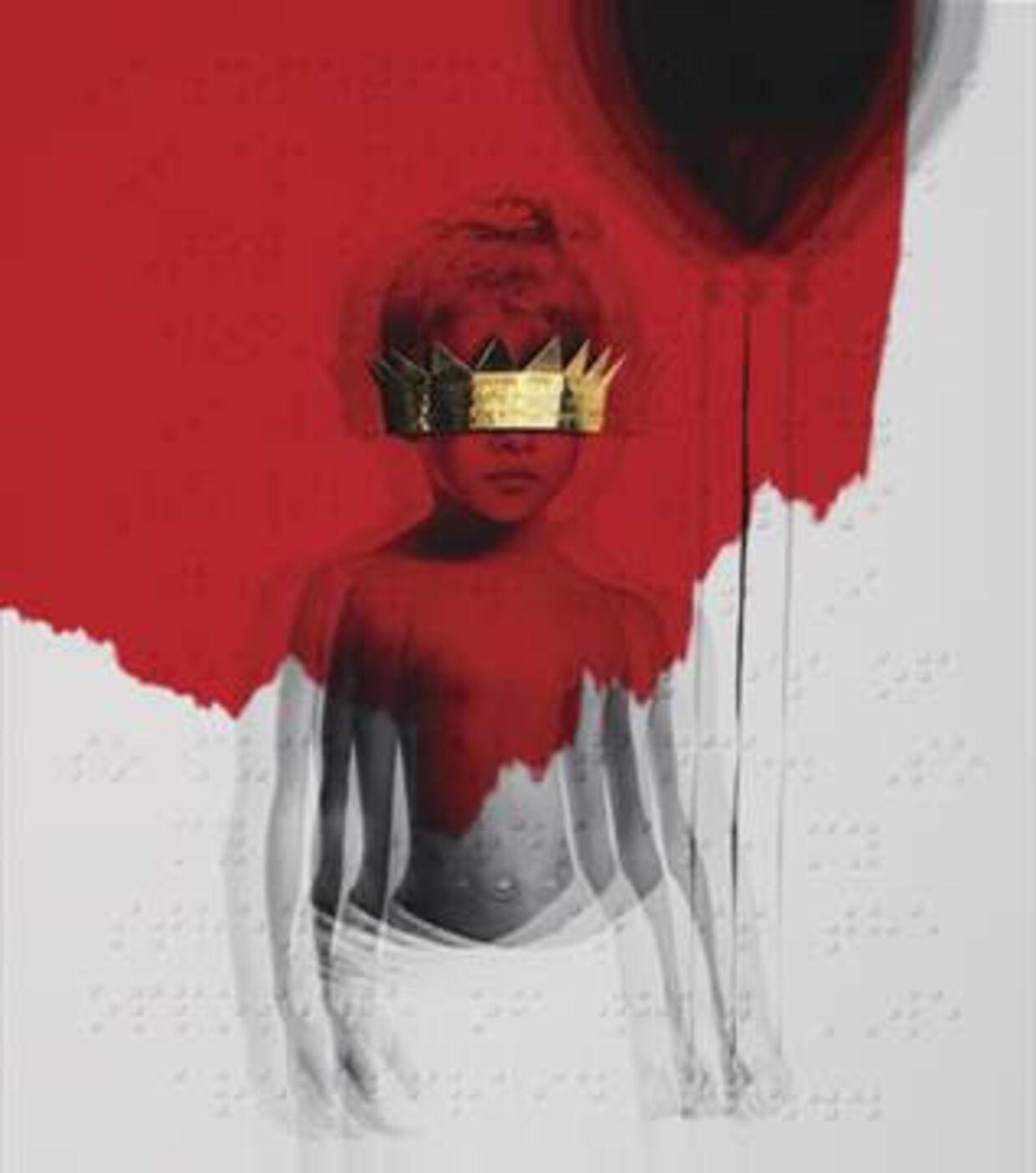 Album-coveret på 'Anti'.