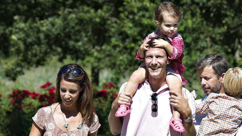 H.K.H. Prinsesse Marie fortæller om den næsten normale hverdag, som hun og prins Joachim har.