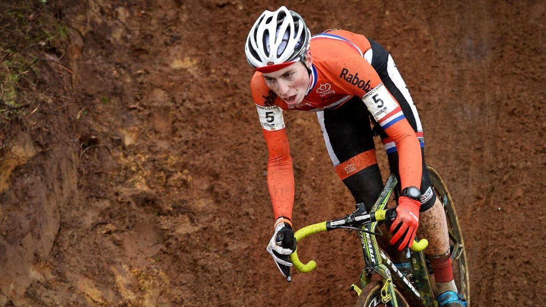 Det var ikke alle, der snød ved VM i cykelcross. Her er hollænderen Jens Dekker på vej til VM-juniortitlen.