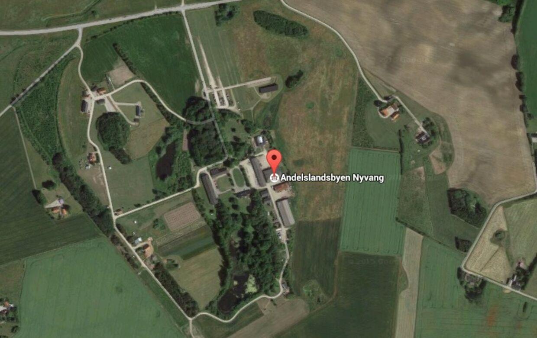 Andelslandsbyen i Holbæk: Det var her, at en 31-årig kvinde torsdag blev forulempet. Foto: Google Maps.