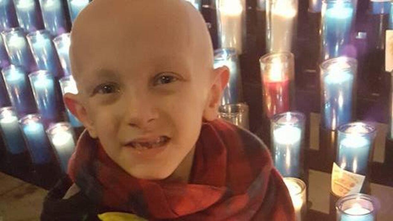Otte-årige Dorian Murray lider af en alvorlig kræftsyg. Men nu har han fået sit sidste ønske opfyldt.
