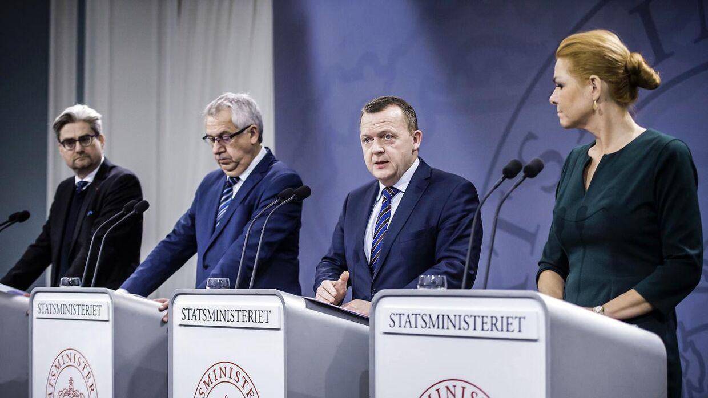 Arkivfoto: Inger Støjberg og Søren Pind er to af regeringens mest populære ministre
