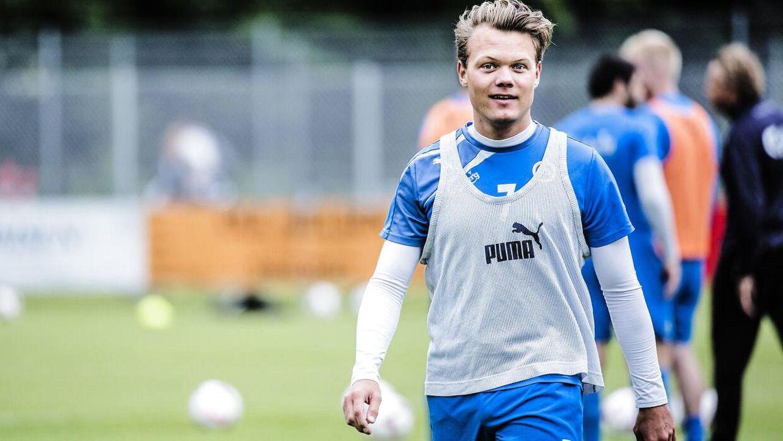Emil Larsen er fortid i Superligaen.