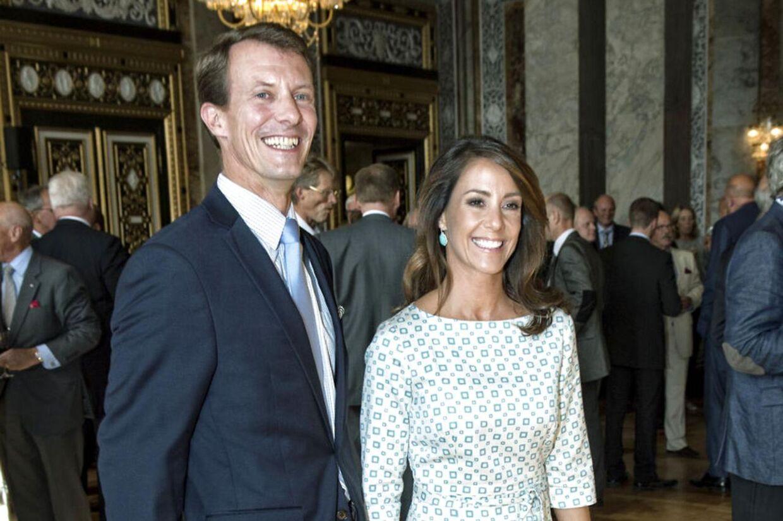 Prinsesse Marie og prins Joachim ejer nu i fællesskab det hus i Klampenborg, som prins Joachim købte sidste år for 34,5 mio. kroner.