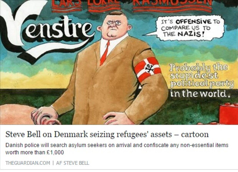 Således bliver Danmarks statsminister portrætteret i stor britisk avis.