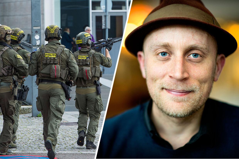 Rasmus Lind Greiner, der er kandidatstuderende på Tværkulturelle Studier på Københavns Universitet, deltog i den stort anlagte terrorøvelse på universitetet i november sidste år. Nu retter han kritik af politiet.
