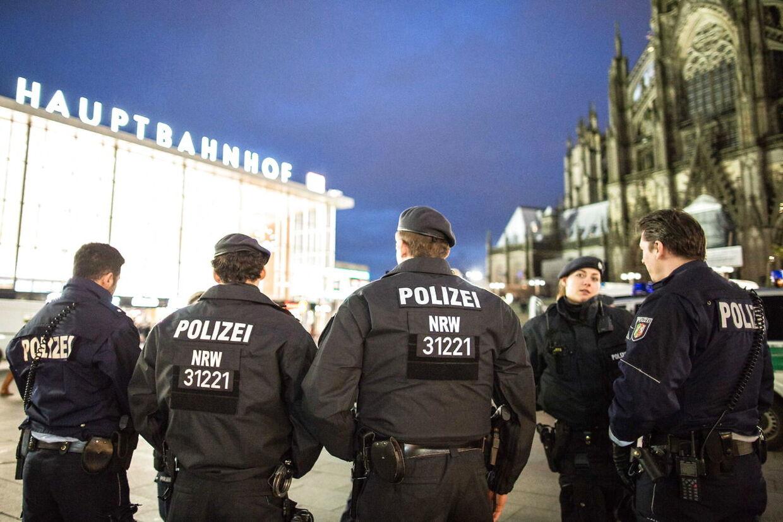 Efter overgrebene har politiet i Köln øget patruljeringen massivt.
