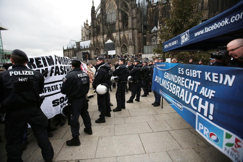 Flere demonstrationer har fundet sted i Köln siden nytår.